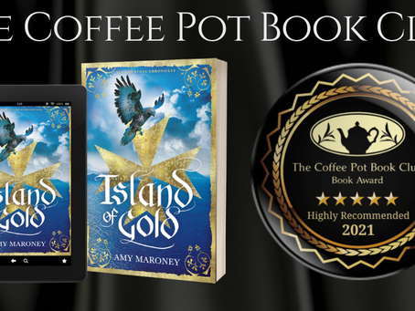 #BookReview - Island of Gold (Sea and Stone Chronicles) by Amy Maroney @wilaroney