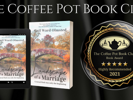 #BookReview - Landscape of a Marriage by Gail Ward Olmsted @gwolmsted