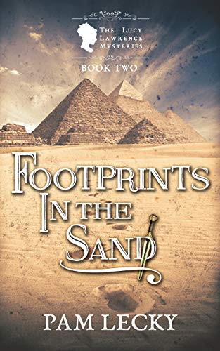 Footprints in the Sand  (The Lucy Lawrence Mysteries Book 2) by Pam Lecky