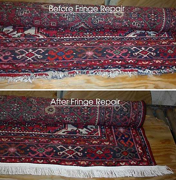 Syracuse Rug Fringe Repair