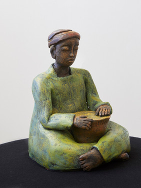 The Djembe Player - Sold