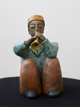 The Trumpet Player - Sold