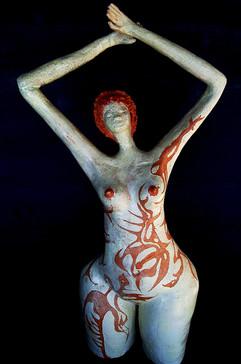 Tattoo Woman - Sold