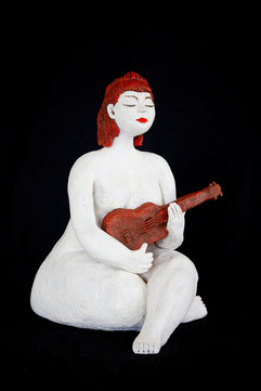 The Little Ukelele Player - Sold
