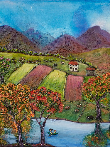 Painting - Romance In The Country