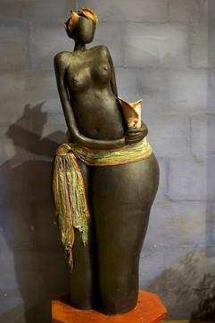 Tribal Girl - Sold