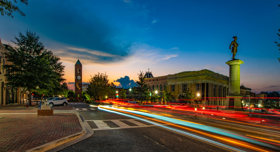 Downtown Spartanburg, South Carolina, US