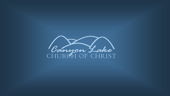 Channel Art - Canyon Lake Church of Chri