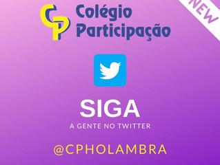 Estamos no Twitter! Siga-nos @cpholambra.