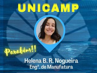 Aprovada Unicamp - Parabéns!