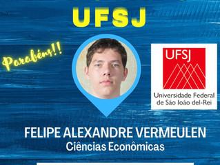 Parabéns Felipe!