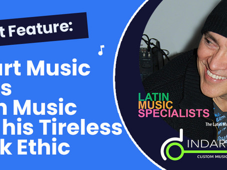 Indart Music Talks Latin Music and His Tireless Work Ethic