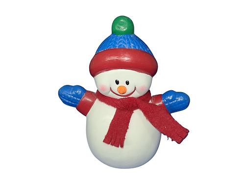Bundle Up Snowman Collectible