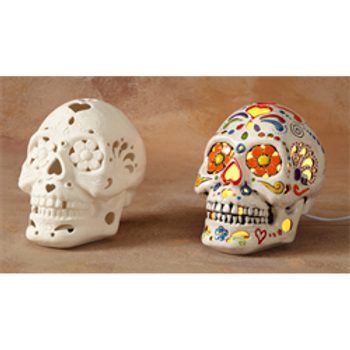 Light Up Sugar Skull