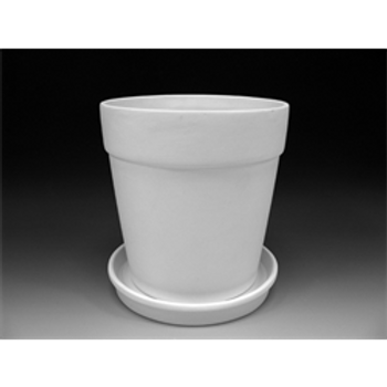 XLarge Flower Pot with Drip Tray