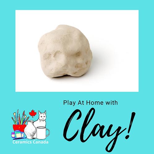 1lb Earthenware Clay