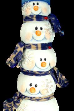Snowman Head Stack