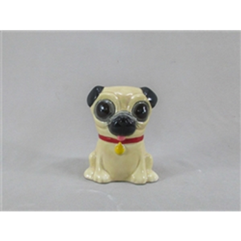 Sitting Pug Collectible