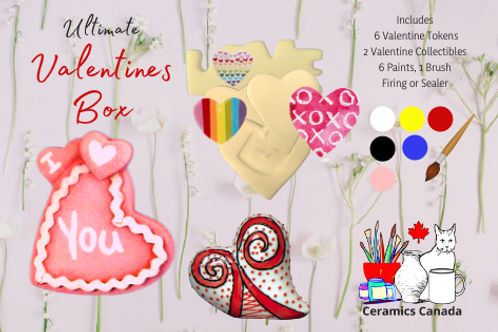Non Fired Ultimate Valentine's Kit