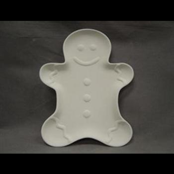 Gingerbread Cookie Plate