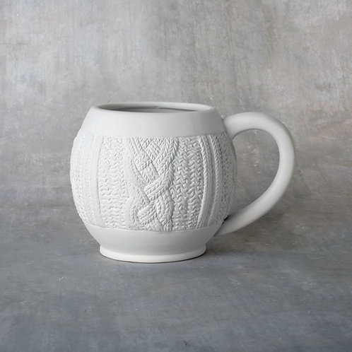 Large Cozy Sweater Mug