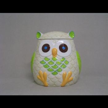 Large Owl  Cookie Jar