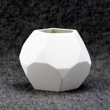 Faceted Planter