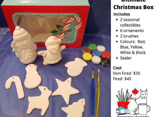 Non Fired Ultimate Christmas Kit
