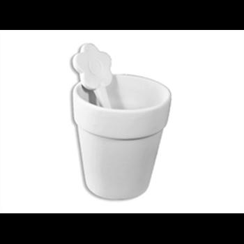 Flower Pot Cup & Spoon