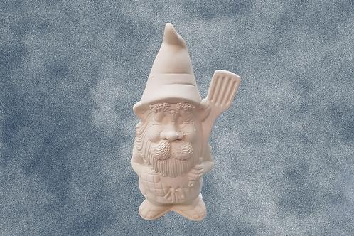 Brewster BBQ Gnome with Spatula