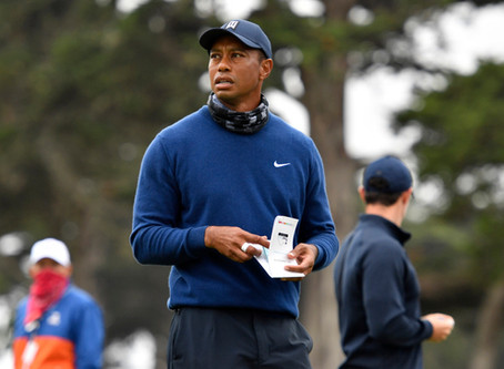 Tiger Woods Grinds It Out, Makes Cut At PGA Championship