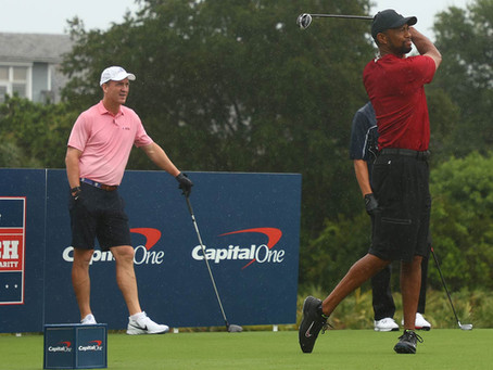 Tiger & Peyton Prevail In A Very Rainy, $20 Million Nail-Biter