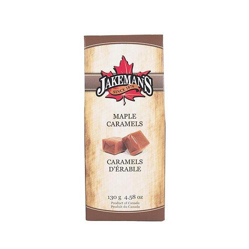 Maple Caramels, zartschmelzend im praktischen 130g Beutel