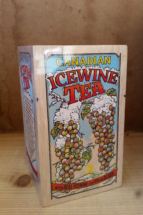 Canadian Ice Wine Tea in der praktischen Holzbox. Inhalt 50g.