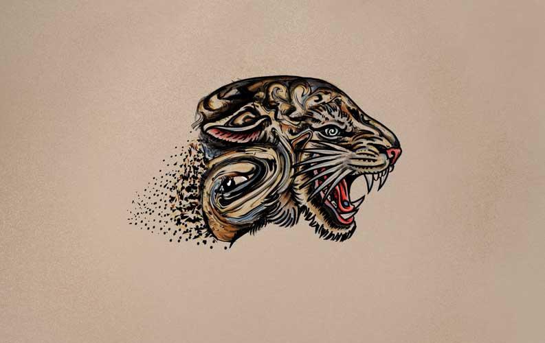 Dissolving Tiger
