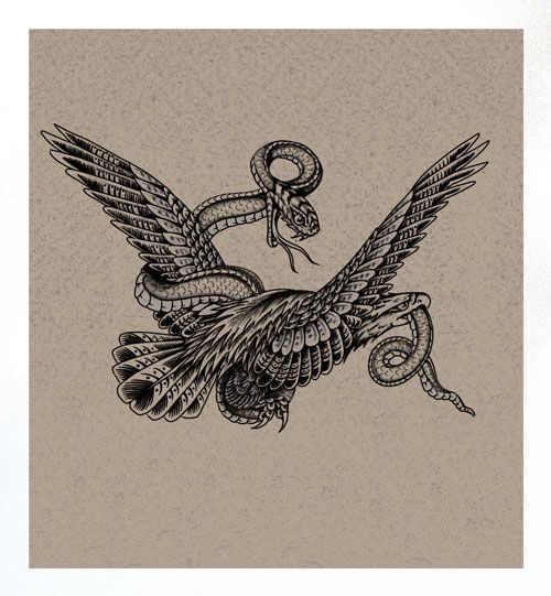 B/G Eagle Snake