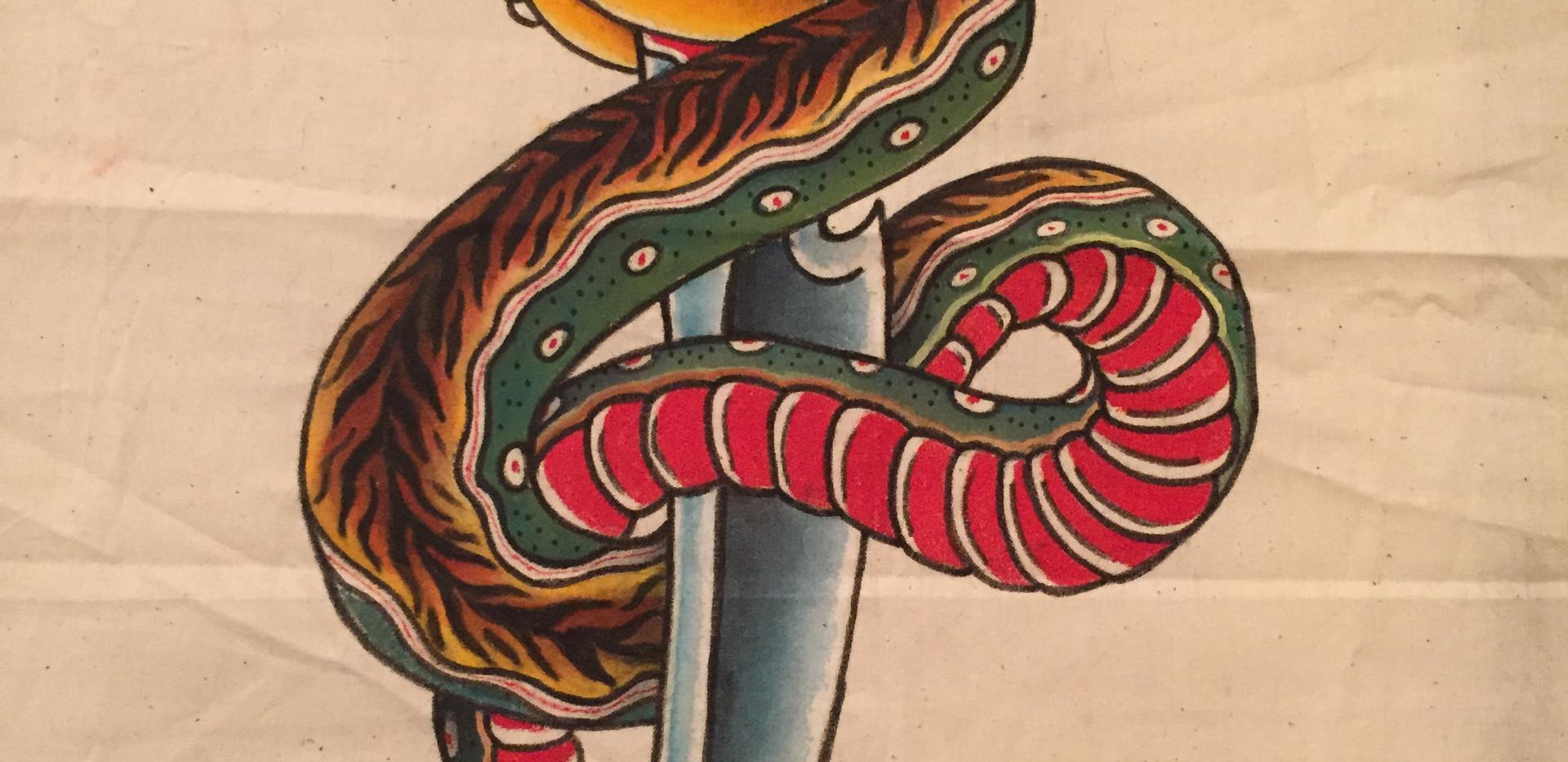 Tiger back Snake