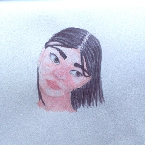 01_Madeleine Lacroix, Premier portrait,