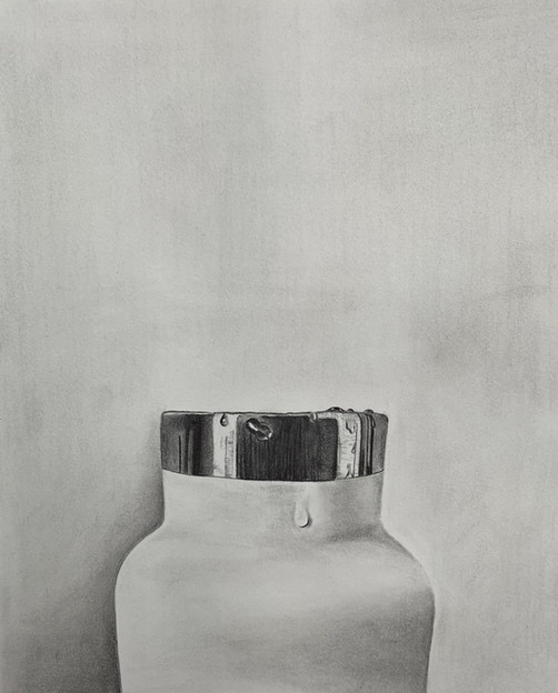 Mia Desmarais - La goutte d'eau (Graphite)