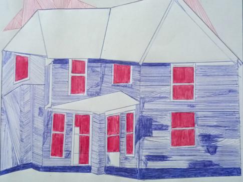 11-11 Georgia Blundell,Solitude 4,Stylo,