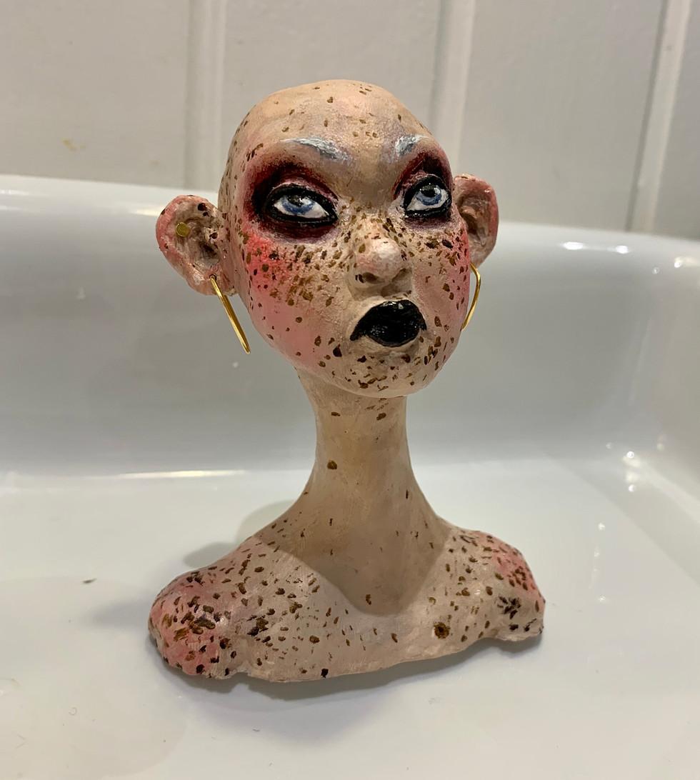 Tess Trop - Carnival Girl (Sculpture)