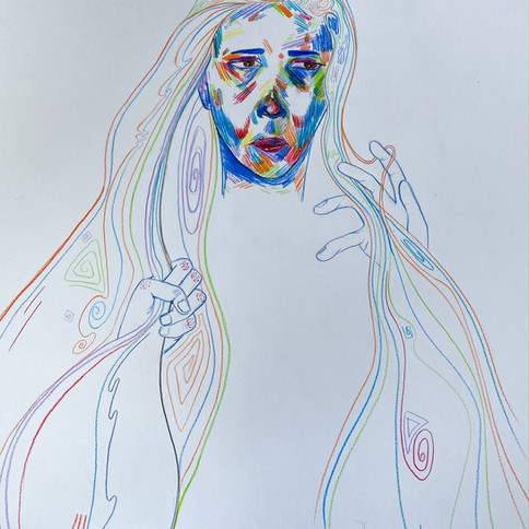 10-Zoë DaSilva, Tension et émotion, Cray