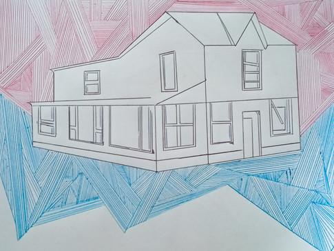 11-11 Georgia Blundell,Solitude 1, Stylo