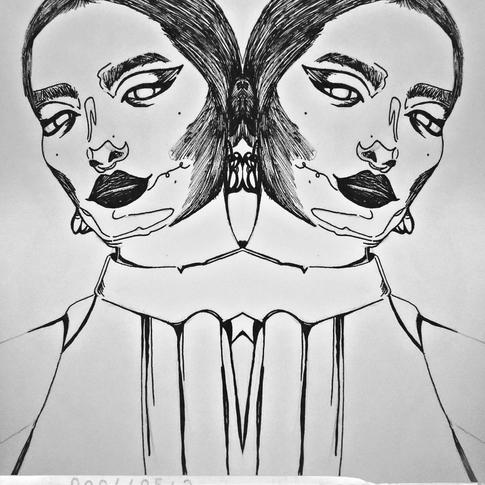 Sophie Lawson-Chan, Les jumelles, Stylo
