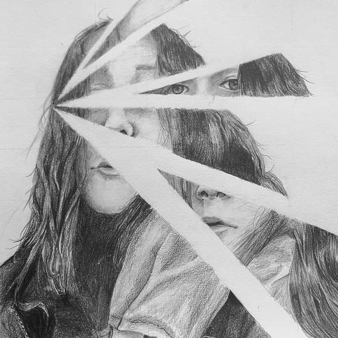 9-Emily Basseville-Nguyen, Autoportrait