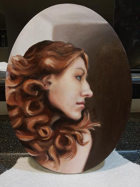 Marina Blazevic - Portrait (Huile)