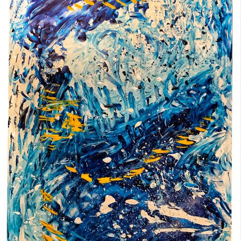 10-Audrey Tucker, Vent d'émotions, peint