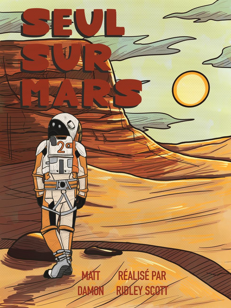 Tallulah Blais - Seul sur Mars (Art numérique)