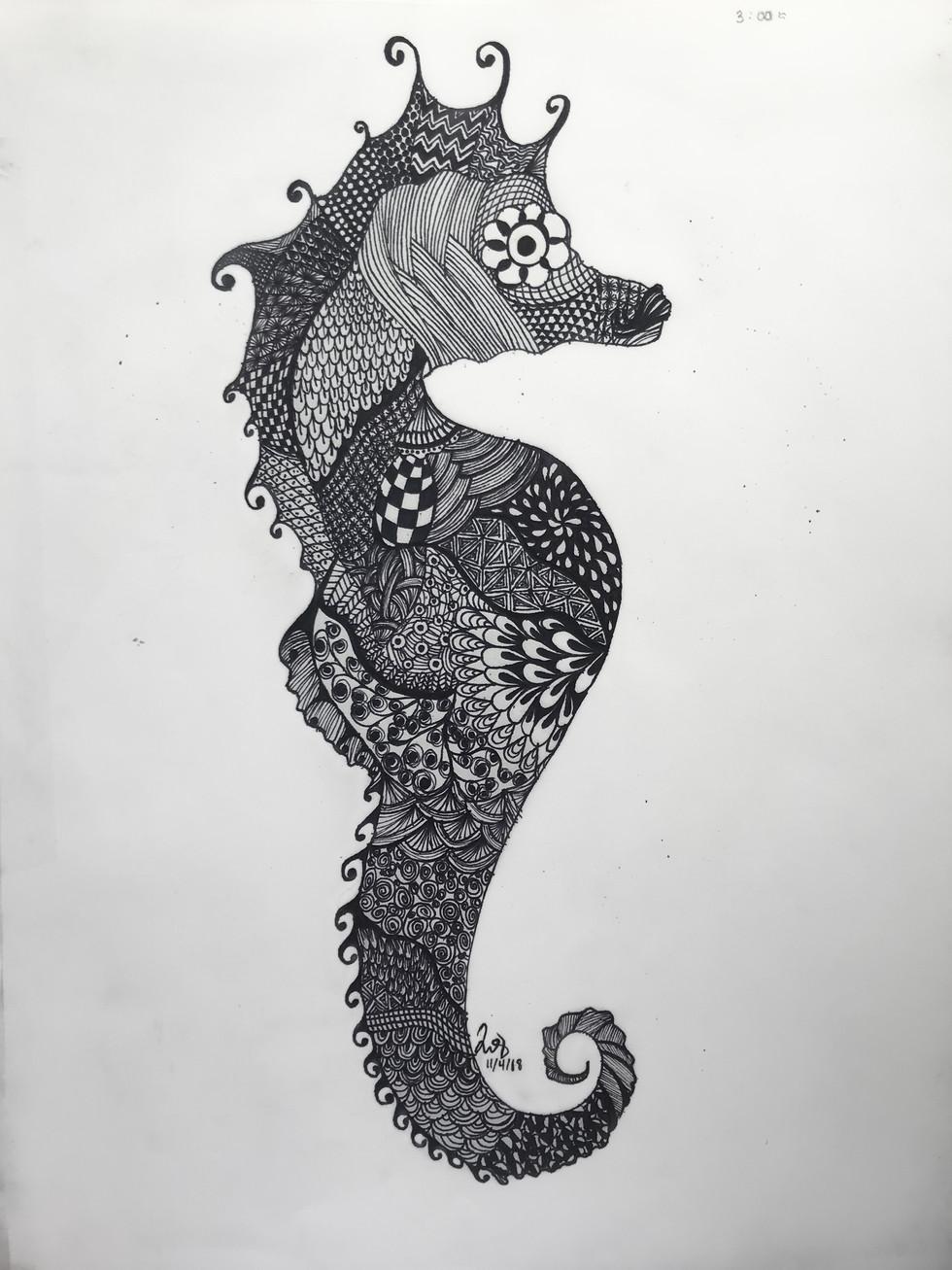 Inès Le Gal - Hippocampe/État d'âme