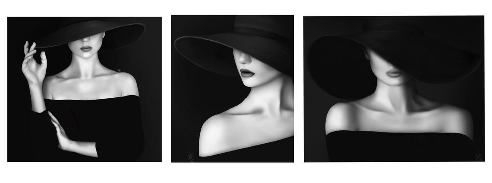 Anya Henry - La dame (Art numérique)